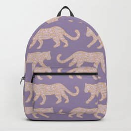 Kitty Parade - Pink on Lavender Backpack