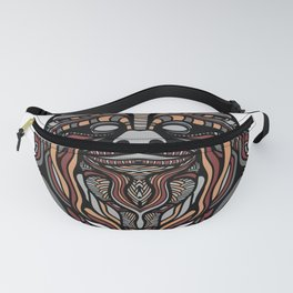 Brown Noodle Beard Hippy Fanny Pack