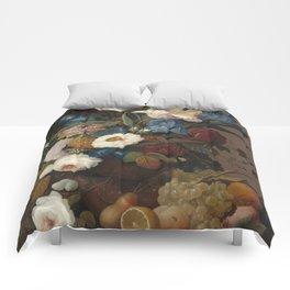 Severin Roesen Still Life Comforters