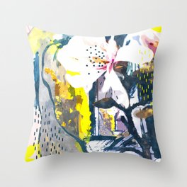 Summer Painting Throw Pillow