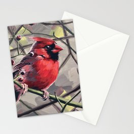 Norther Cardinal 6 Stationery Cards