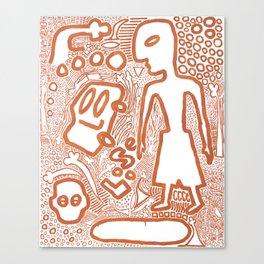 Loose Canvas Print