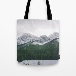 Sun Over The Trees Tote Bag