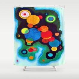 Wassily Kandinsky Deepened Impulse Shower Curtain