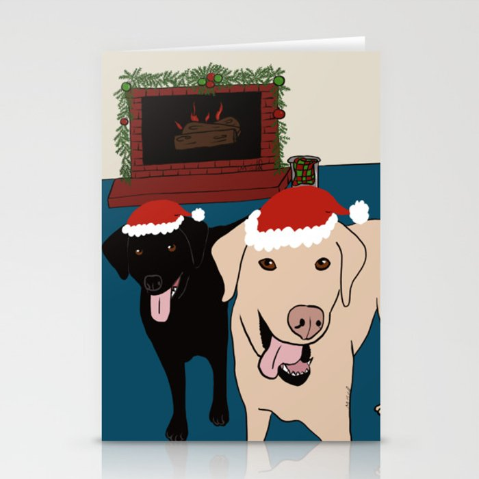 Labs Love Christmas! Stationery Cards