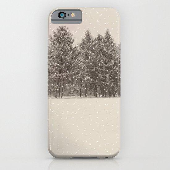 snowfall iPhone & iPod Case