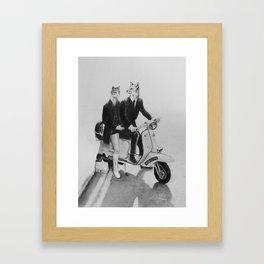 This is a Modern Life Framed Art Print