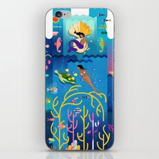 Royals (Sea) iPhone & iPod Skin