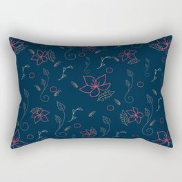 Flower Power 11 Rectangular Pillow
