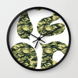1206 Cammo Wall Clock