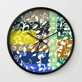 Unconventional lace Wall Clock