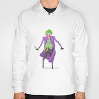 joker Hoodies featuring Joker  by Bastonmag