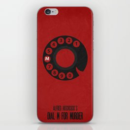 Dial M For Murder 01 iPhone Skin