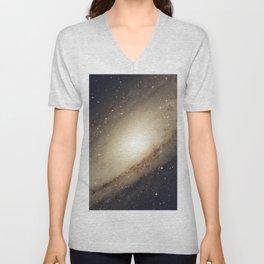 Andromeda Galaxy Unisex V-Neck