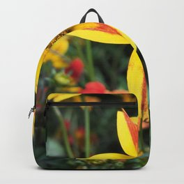 "Bidens, ""Field Marigold"" Backpack"