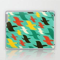 Birds are flying Laptop & iPad Skin