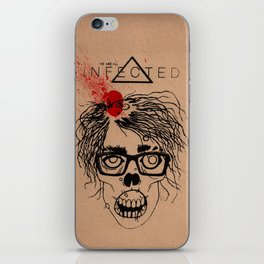 Mild Mannered Zombie iPhone Skin
