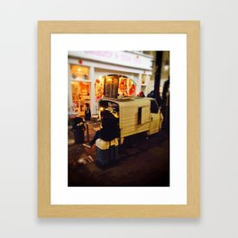 Slow Afternoon at Greenwich Market Framed Art Print