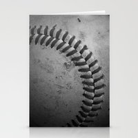 baseball Stationery Cards featuring Baseball by Christy Leigh