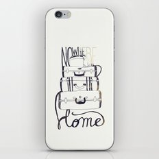 Nowhere Home iPhone & iPod Skin