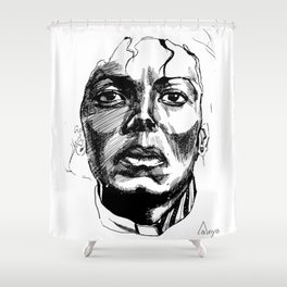Idol Shower Curtain