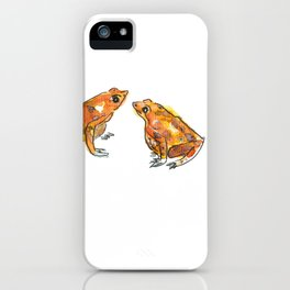 Let's frog about it! iPhone Case