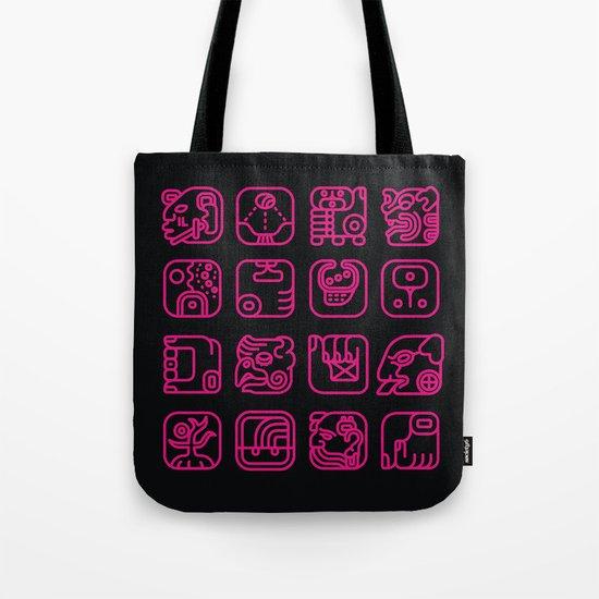 Maya Writing System Tote Bag