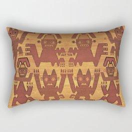 Inca Shaman Spirits Rectangular Pillow
