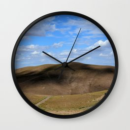 Mountain In Kazakstan Wall Clock