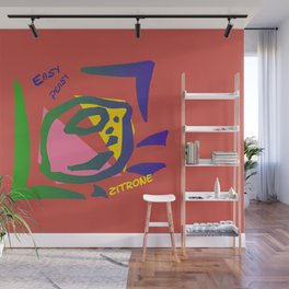 Esay Zitrone Wall Mural
