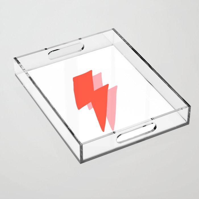 Thunder Acrylic Tray