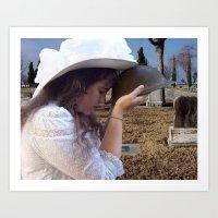 Gilded Memorial Art Print