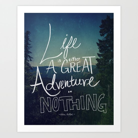 Great Adventure II Art Print