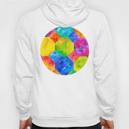 Geometric Brights #1 Hoody
