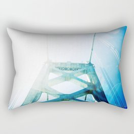 oakland bay bridge  Rectangular Pillow