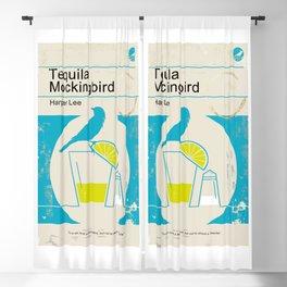Tequila Mockingbird (Blue Ed) Blackout Curtain