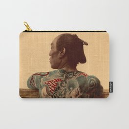 Tattooed Samurai Carry-All Pouch