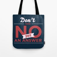 quote Tote Bags featuring Quote by Motivational