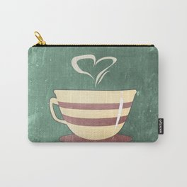 Coffee is love illustration Carry-All Pouch