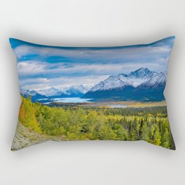 Matanuska Glacier, Alaska - Autumn Rectangular Pillow