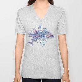 Journeying Spirit (Shark) Unisex V-Neck