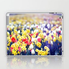 flowery view. Laptop & iPad Skin