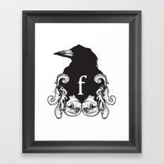 f-rook Framed Art Print