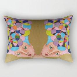 Crazy Hat Rectangular Pillow