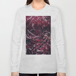 FLORAL CLUSTER PATTERN Long Sleeve T-shirt