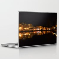 oakland Laptop & iPad Skins featuring Lake Merritt, Oakland, CA by CSKong