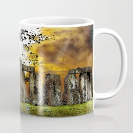 Henge at Sunsleep - Stonehenge Coffee Mug
