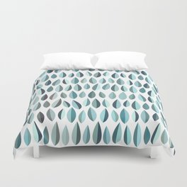 Mid-Century Modern Leaf pattern Collection 3 Duvet Cover