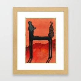 Animal's Alphabet - H for 'Horse' Framed Art Print