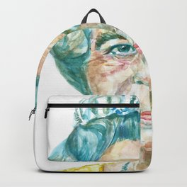 ELIZABETH II - watercolor portrait Backpack